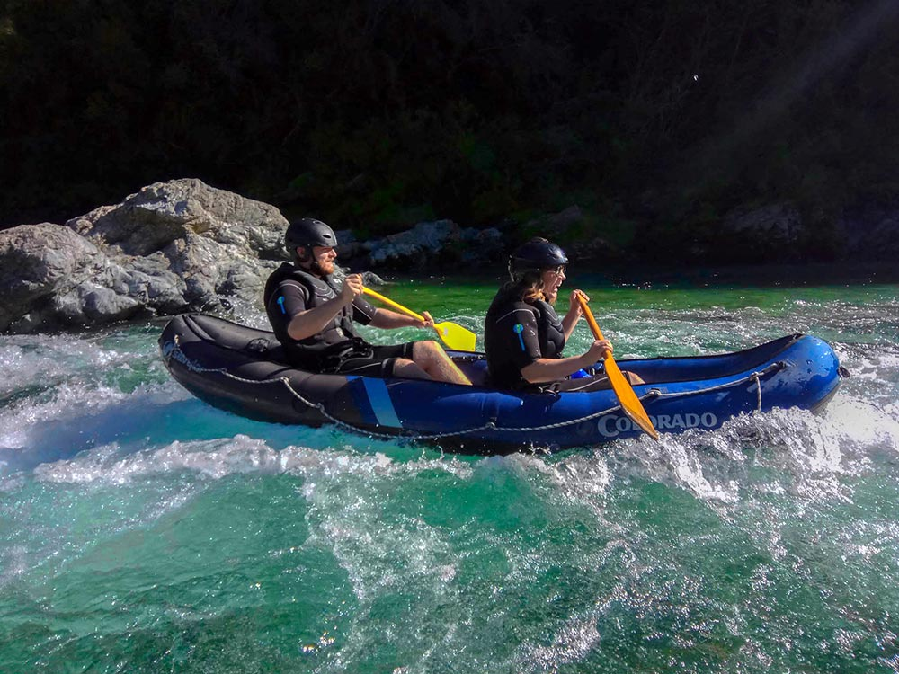 Rapids Pelorus River Kayaking New Zealand