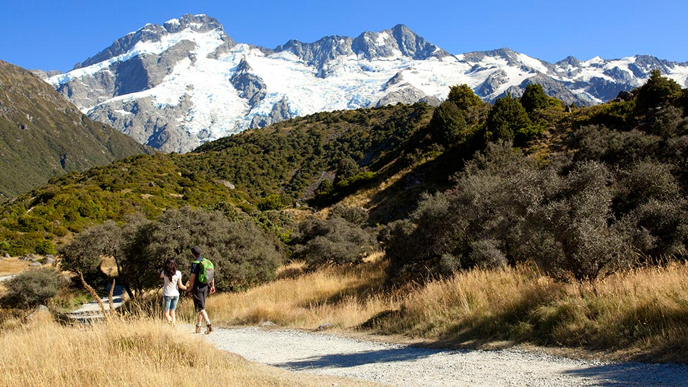 LOTR & The Hobbit Filming Location in Mount Cook