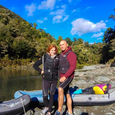 Couple Kayaking Tour New Zealand