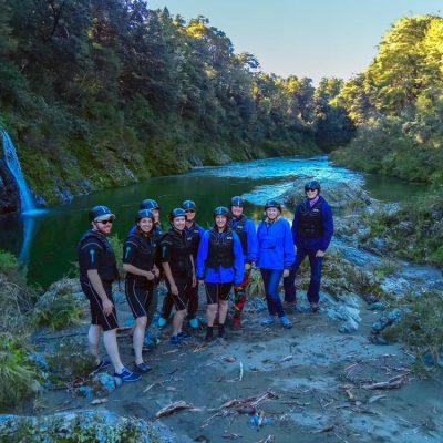 Kayaking Group Pelorus River New Zealand