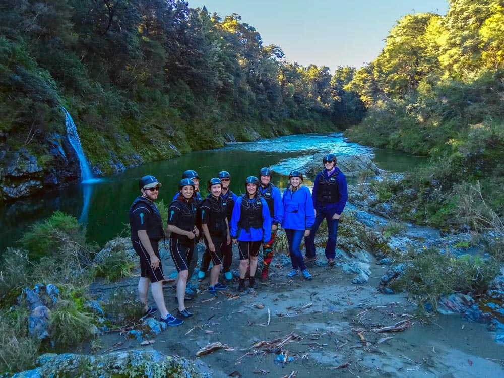 Kayaking Group Pelorus River New Zealand