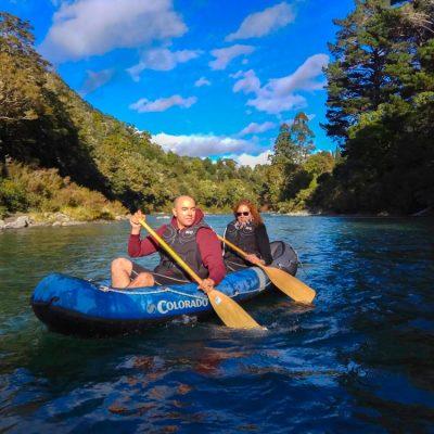 Kayaking LoTR River New Zealand