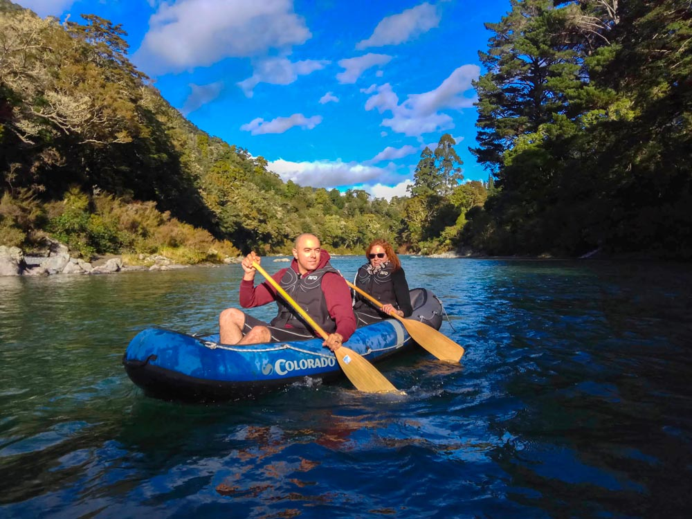 Kayaking LoTR River New Zealand