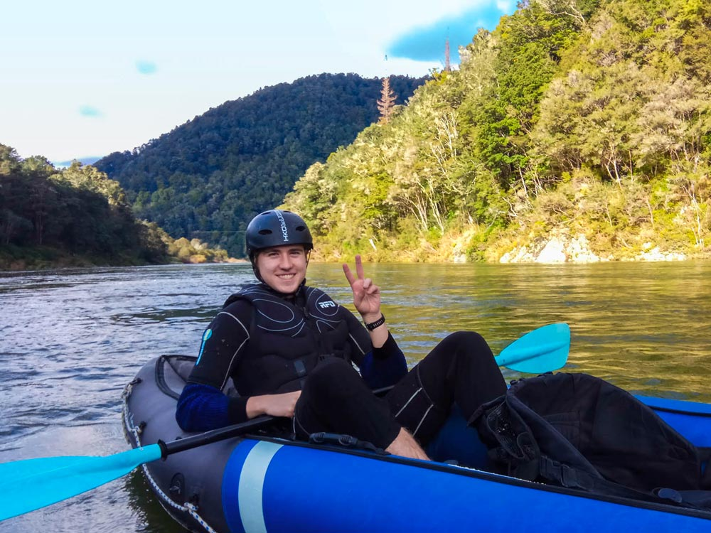 Kayaking New Zealand Scenic River