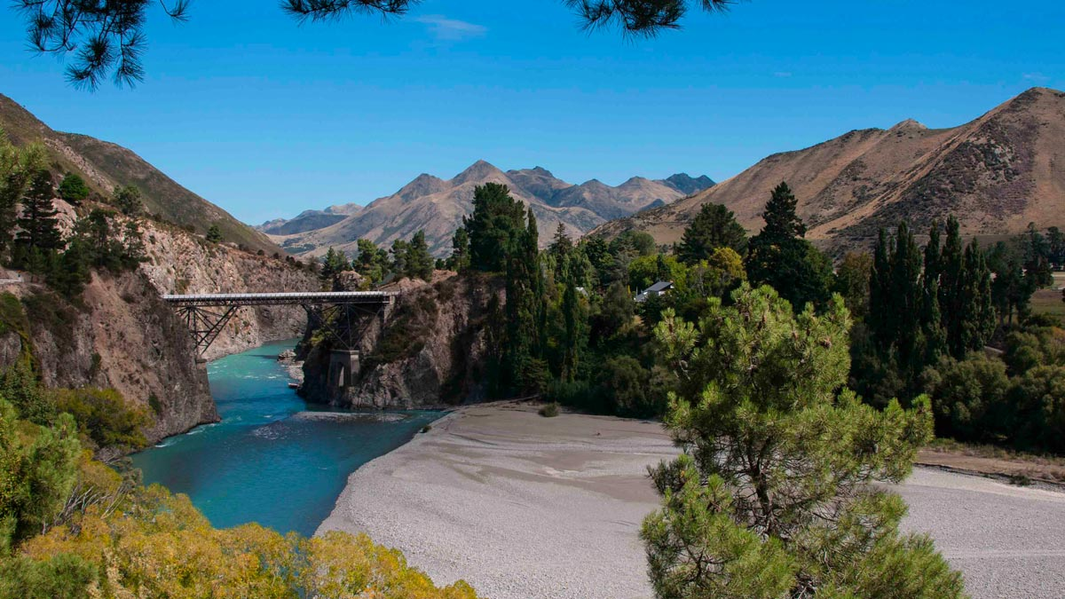 New Zealand South Island Itinerary Hanmer Springs Bungy