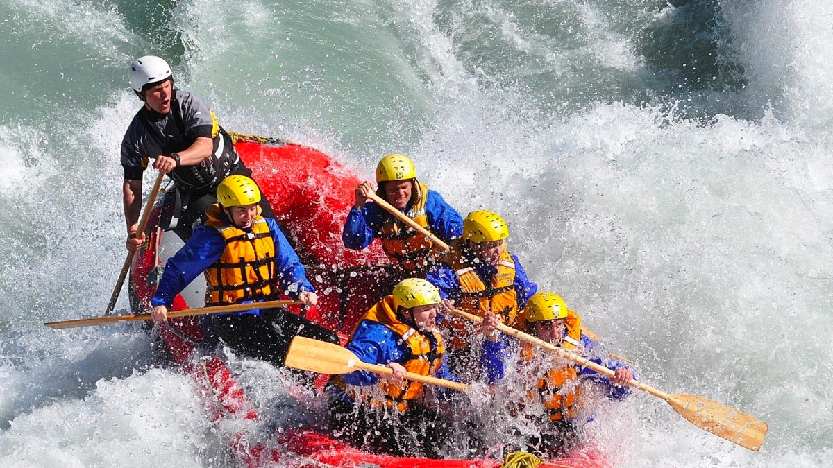 New Zealand South Island Adventure Itinerary Rafting Selwyn