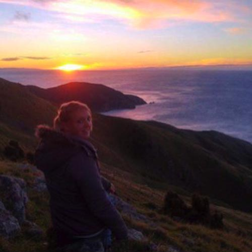 Eline Summer Internship New Zealand
