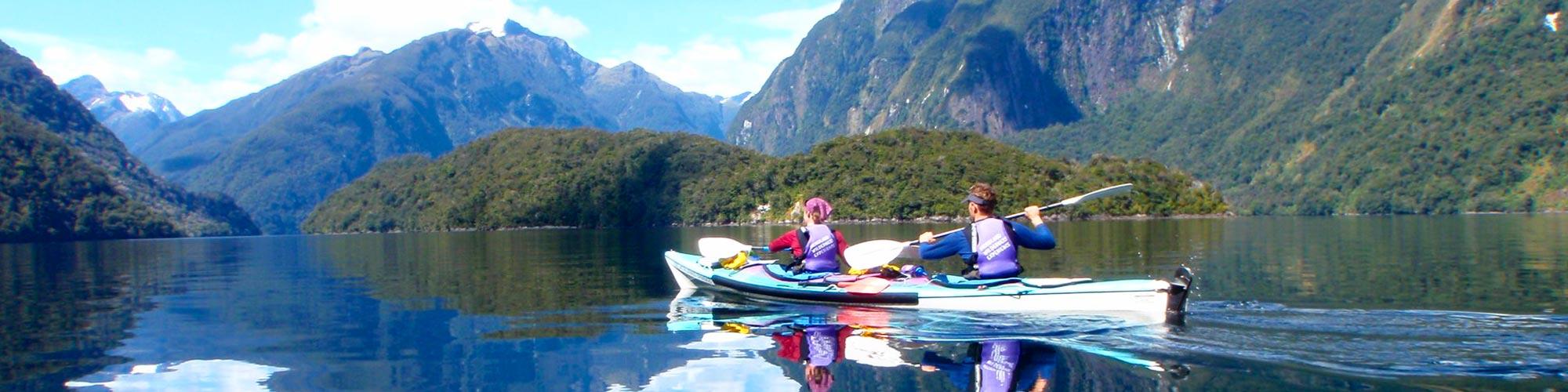 Hidden Kayaking Gems New Zealand South Island