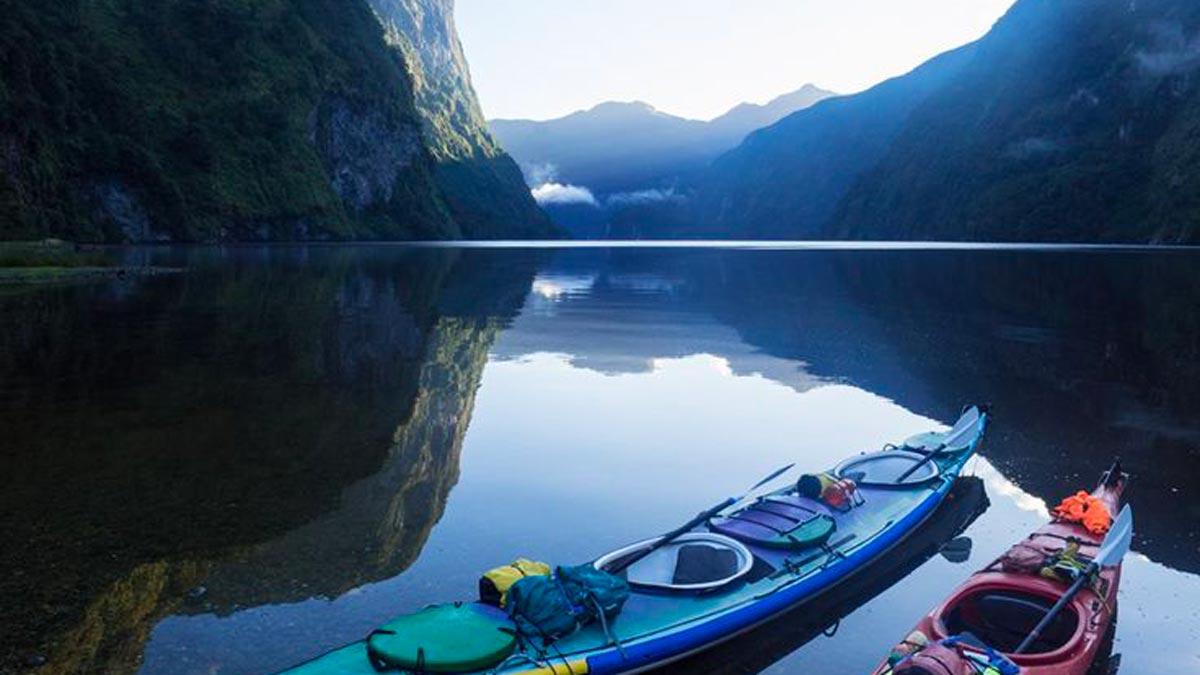 Hidden Kayaking Gems New Zealand Doubtful Sound