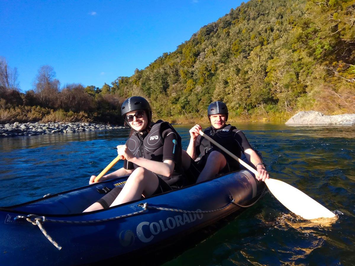 Hobbit Kayak Tour at Pelorus River