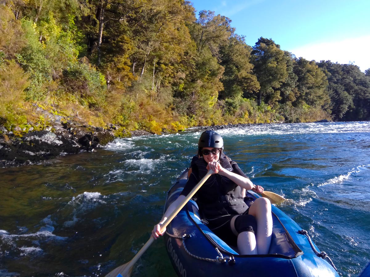 Kayaking the Pelorus River in New Zealand