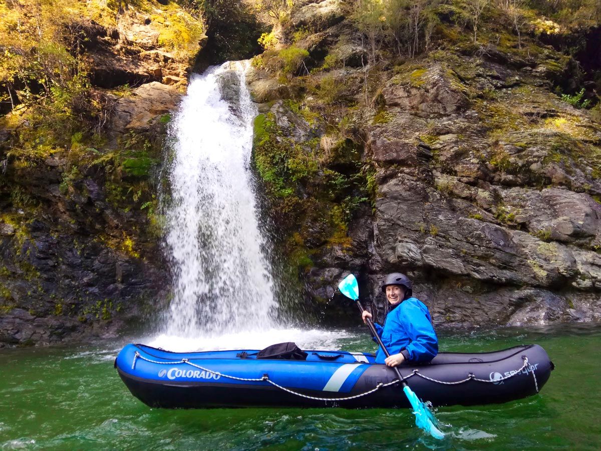 Kayaking Tour at Pelorus River Falls