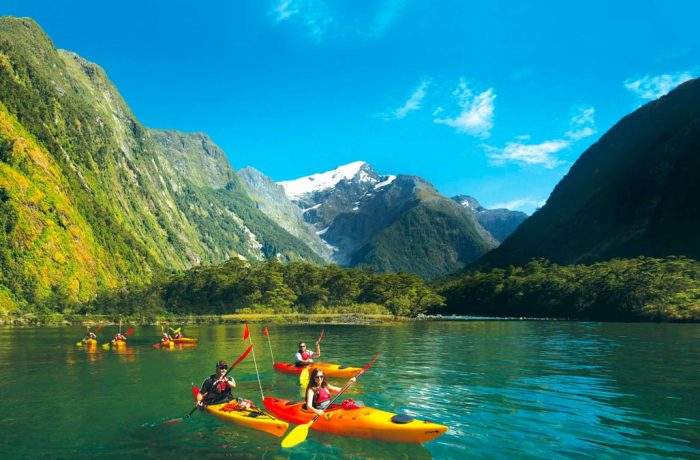 Kayaking Adventures for Families in New Zealand