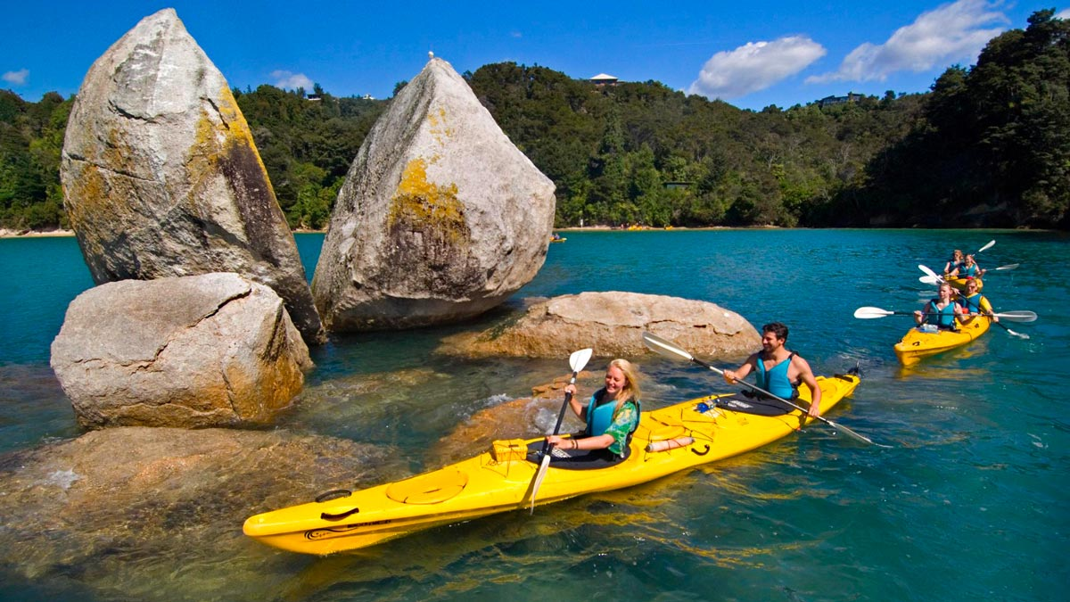 Kayaking Adventures Families Abel Tasman