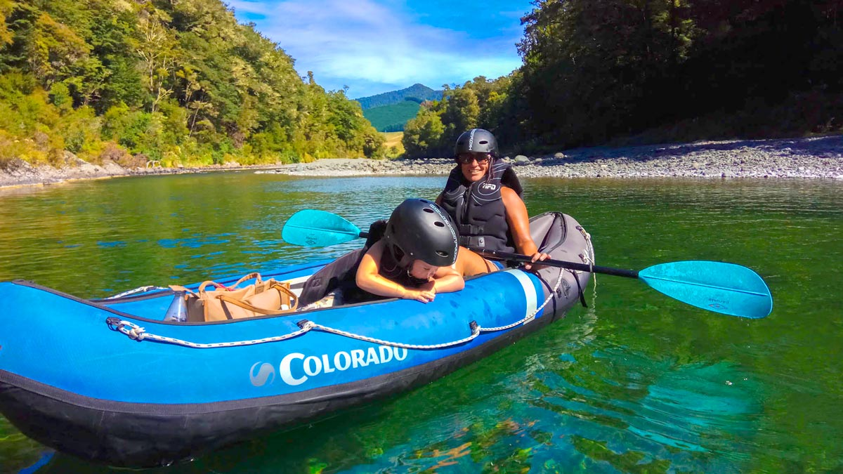 Kayaking Adventures Families Pelorus River