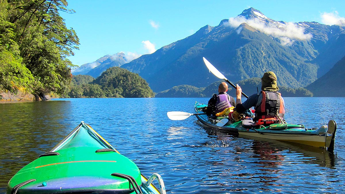 Kayaking Adventure for Families in New Zealand