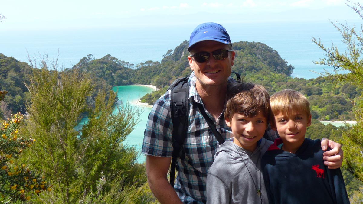 Travel in New Zealand with Kids in Abel Tasman