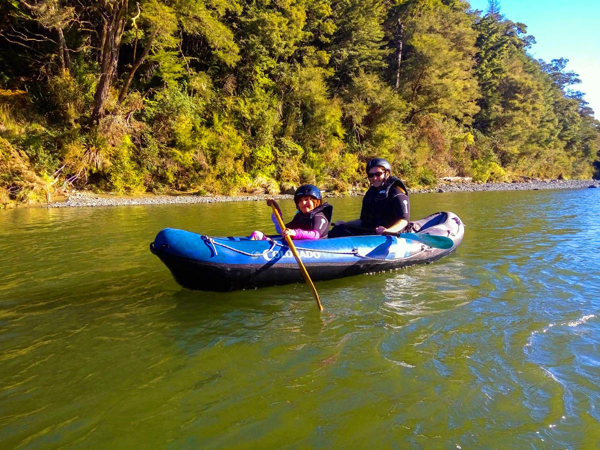 Family Hobbit Kayak Tour in Marlborough