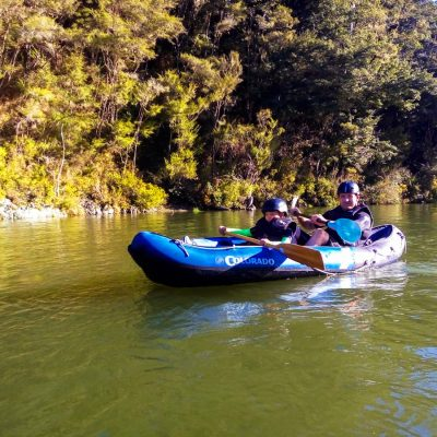 Family Kayak Tour in New Zealand's South Island