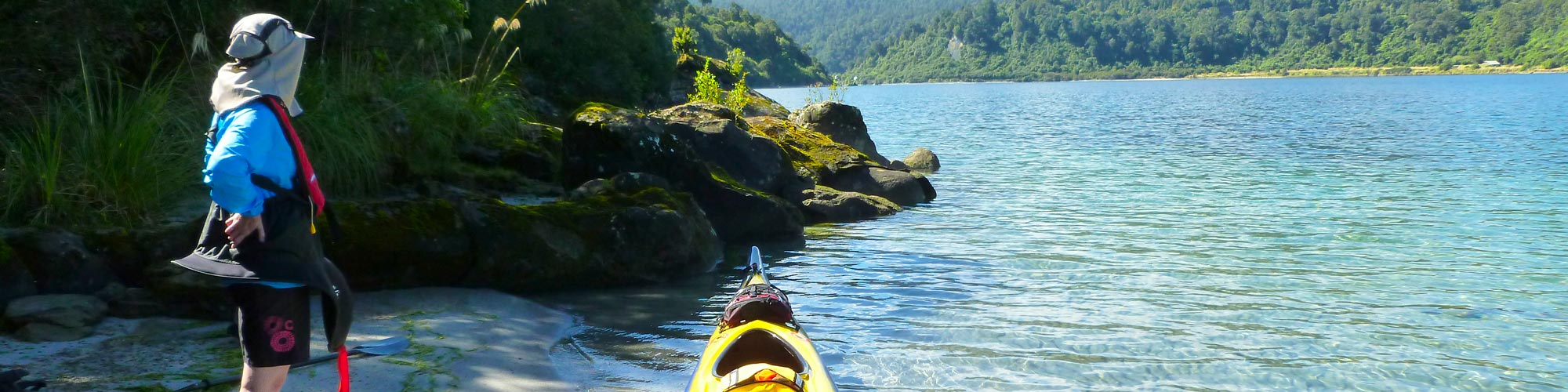 Hiddden Kayaking Gems New Zealand's North Island Banner