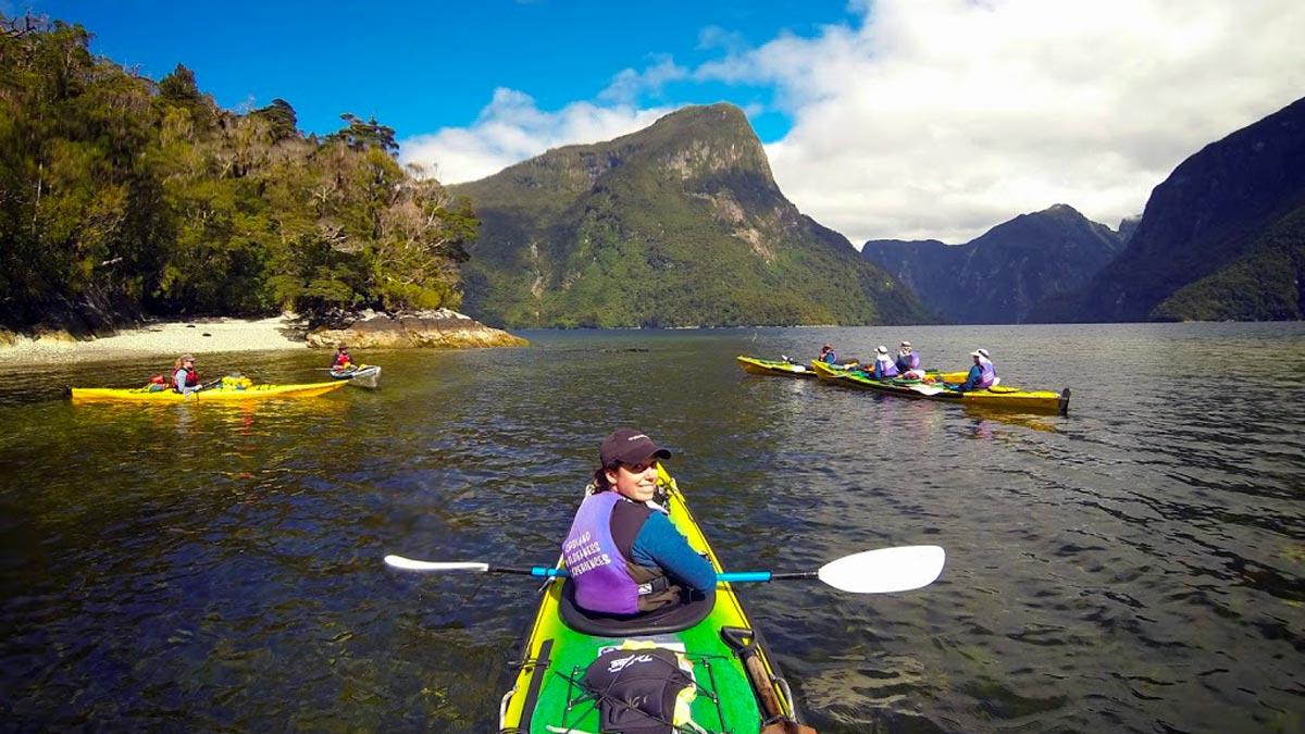 Kayak Nature Tour at Doubtful Sound