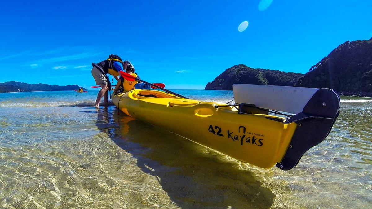 Kayak Shop & Rental in Abel Tasman, New Zealand
