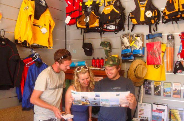 Kayak Rental and Kayaking Shops in New Zealand