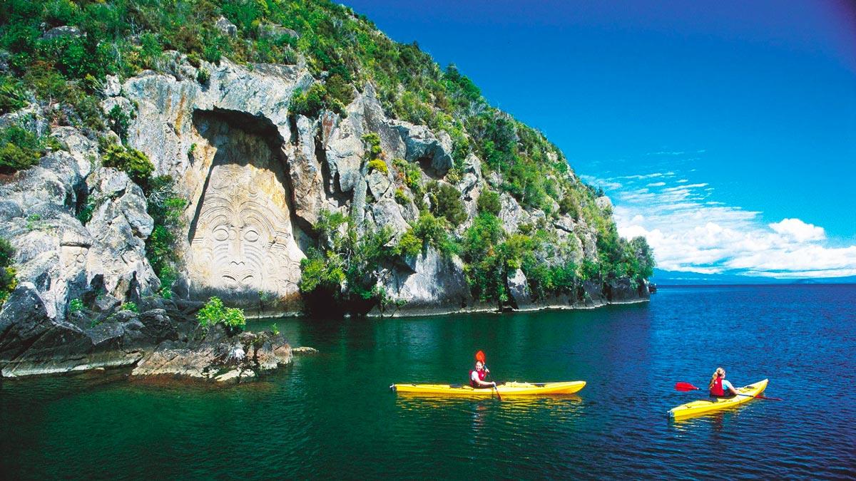Kayak Shop & Rental in Lake Taupo, New Zealand