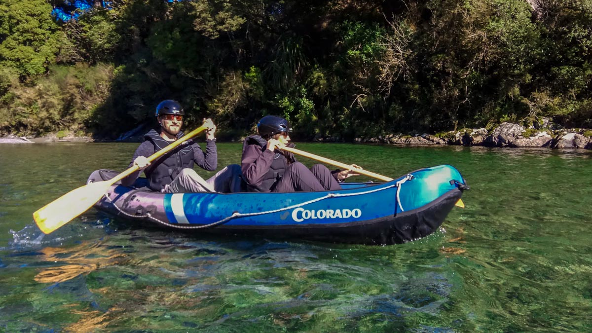 Kayaking Crystal Clear Water