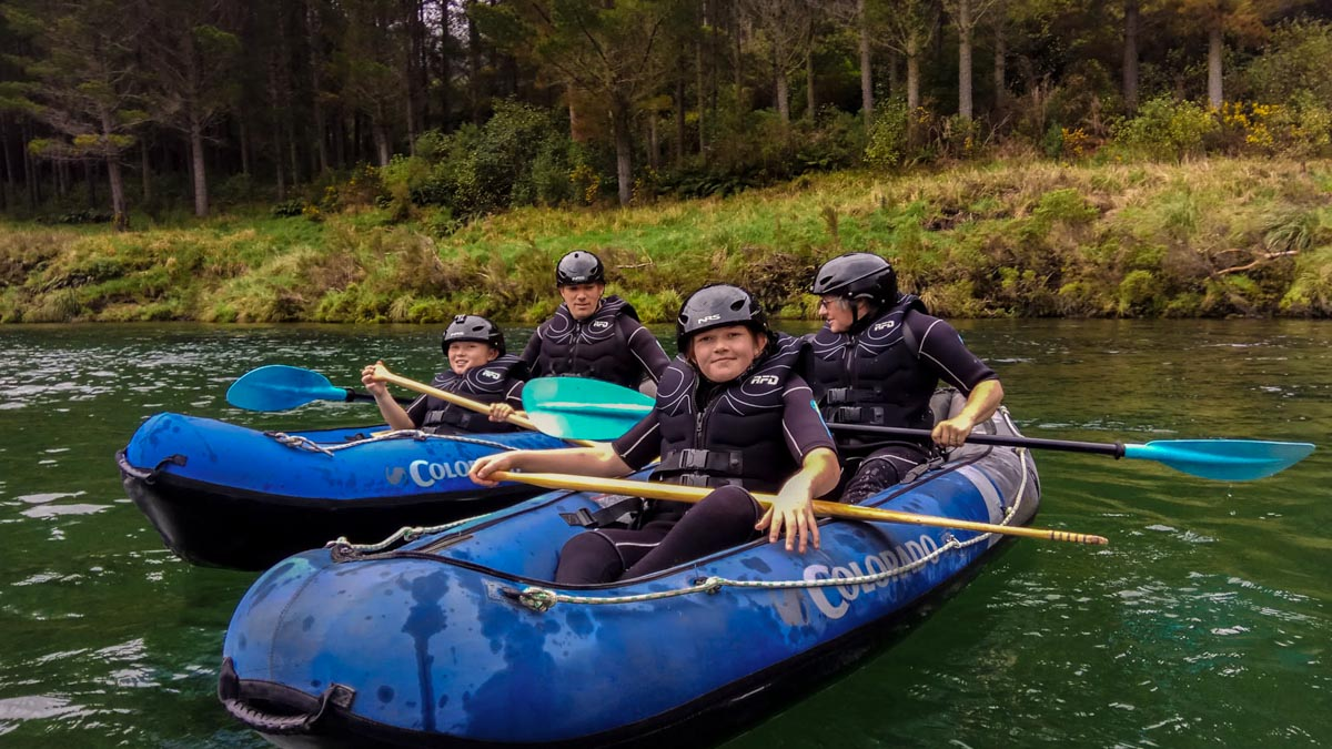 Kayak Tour for Families in New Zealand