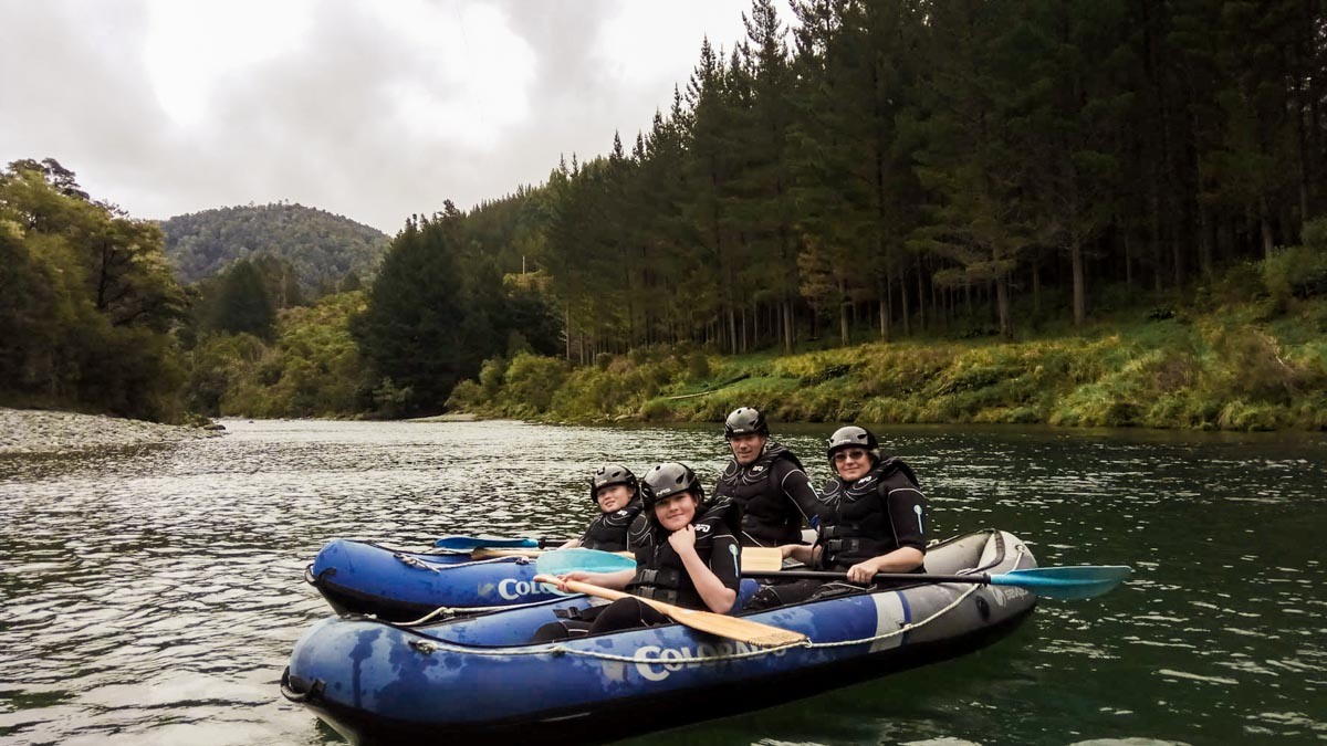 Kayaking Tour for Families in NZ