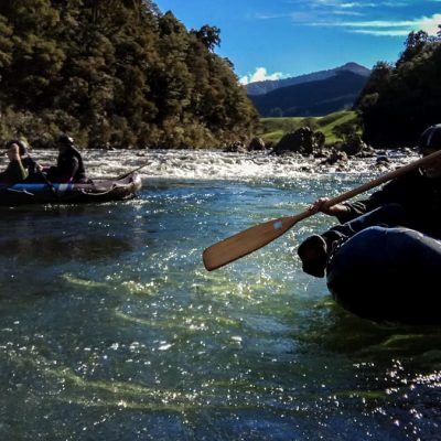 Hobbit Kayak Tour at the Pelorus River, New Zealand