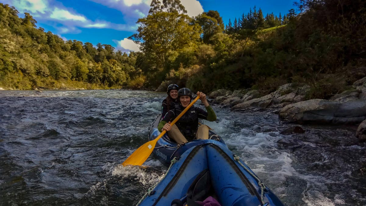 Kayak on the LoTR Pelorus River