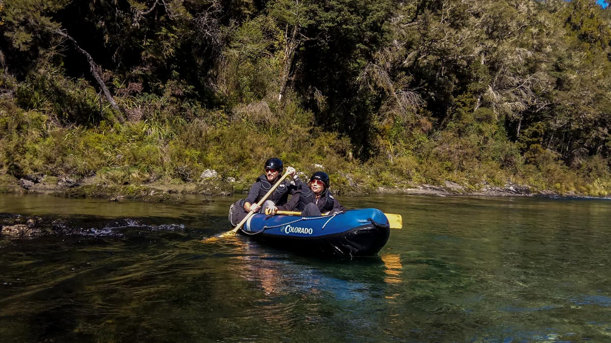 Kayak on the Pelorus River