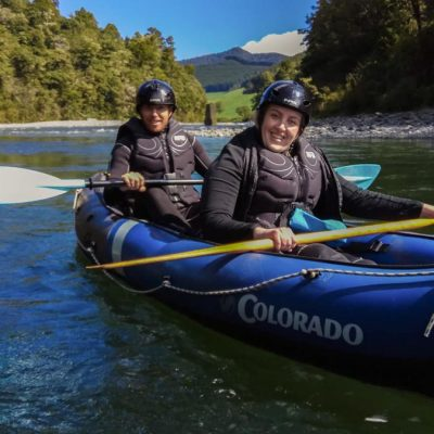 Kayaking New Zealand's River