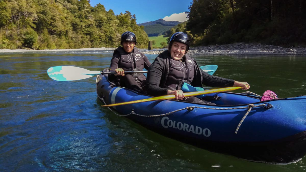 Kayaking New Zealand's River