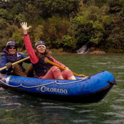 Kayaking River Tour in New Zealand