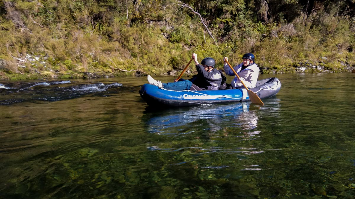 Kayaking Tour at the Pelorus River, New Zealand