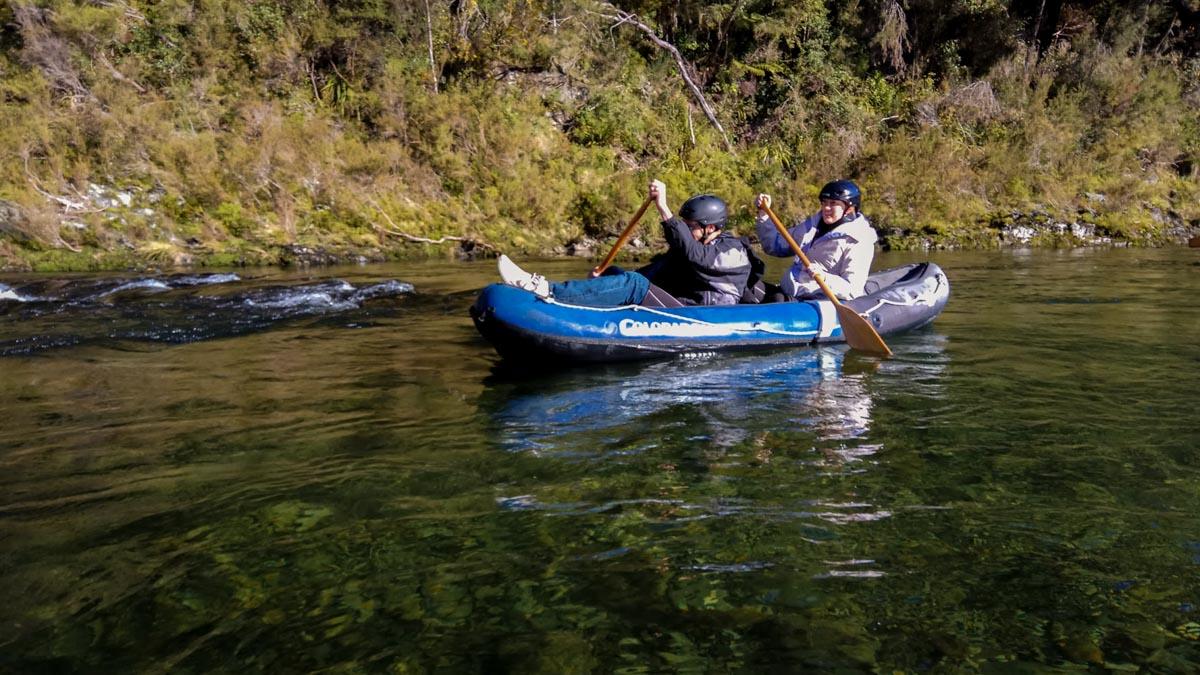 Kayaking Tour at the Pelorus River, New Zealand