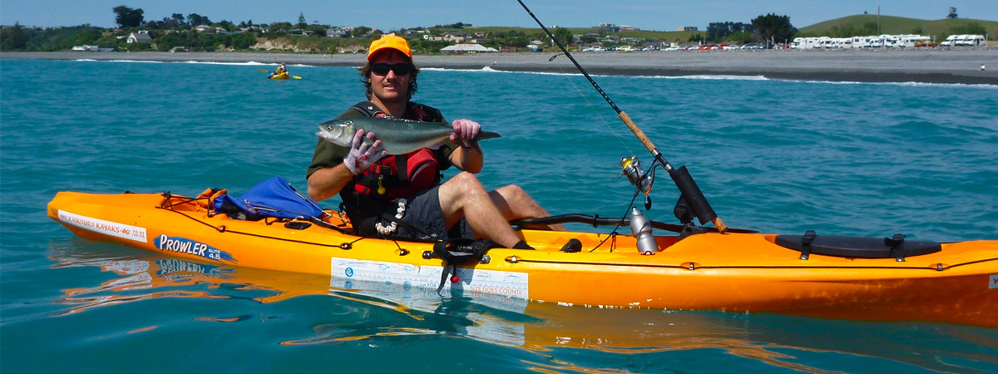 Kayak Fishing New Zealand Banner