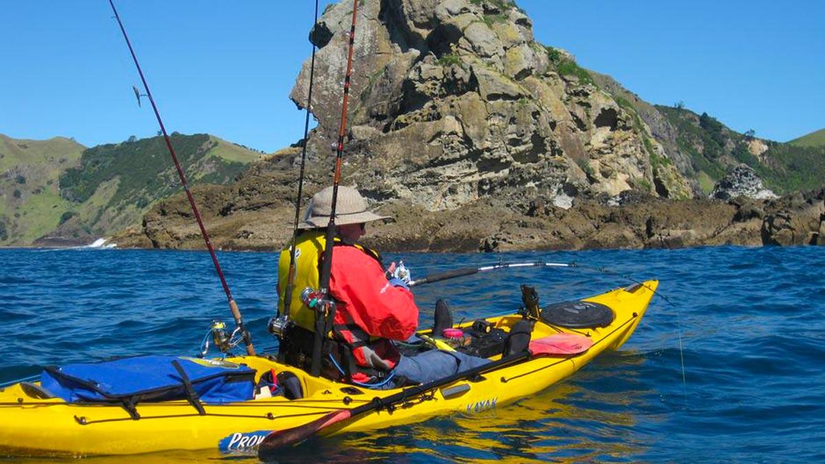 Kayak fishing in new zealand kayak new zealand for New zealand fishing