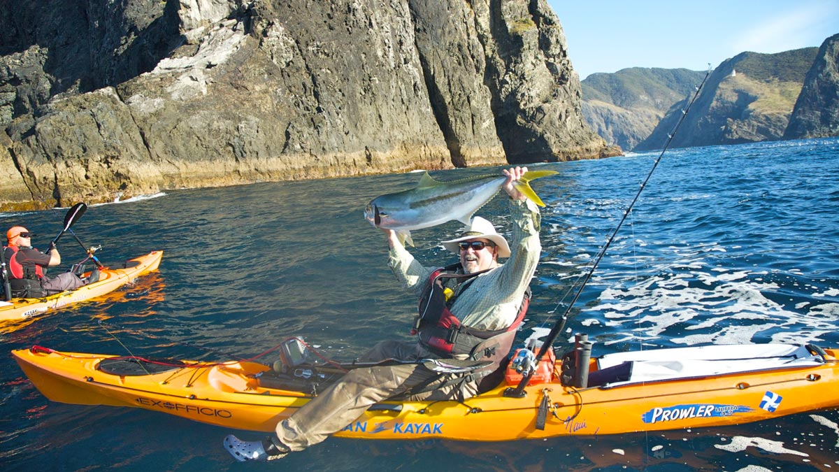 Kayak Fishing New Zealand Kaikoura