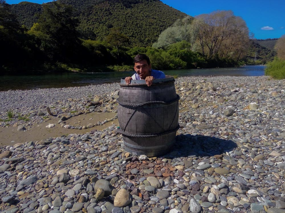 Barrel Run, Hobbit Kayak Tour New Zealand