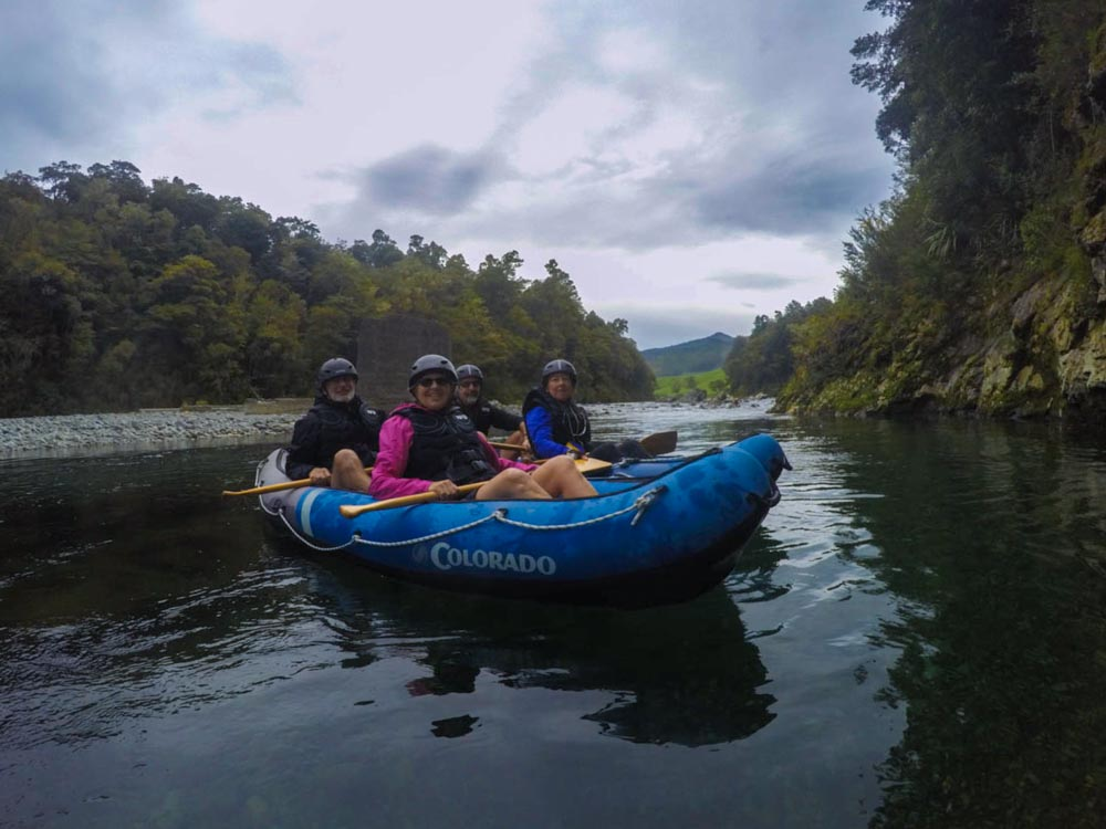 Family Kayaking Tour in New Zealand