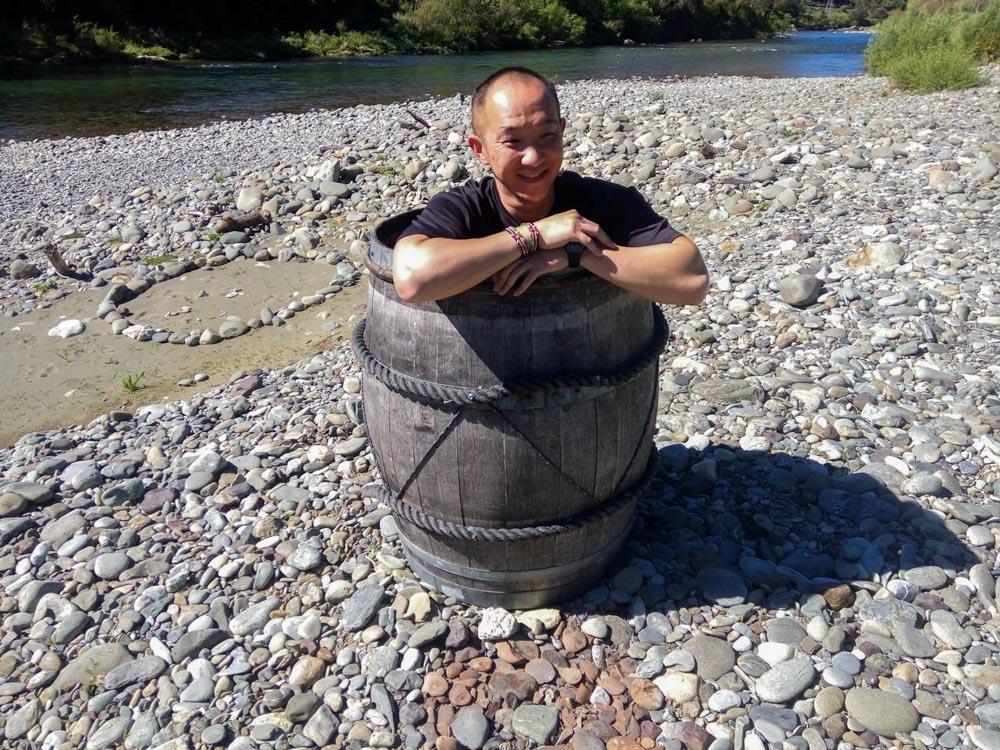 Hobbit Kayak Tour Barrel Run