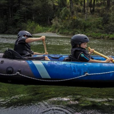 Kayaking Tour for children in New Zealand
