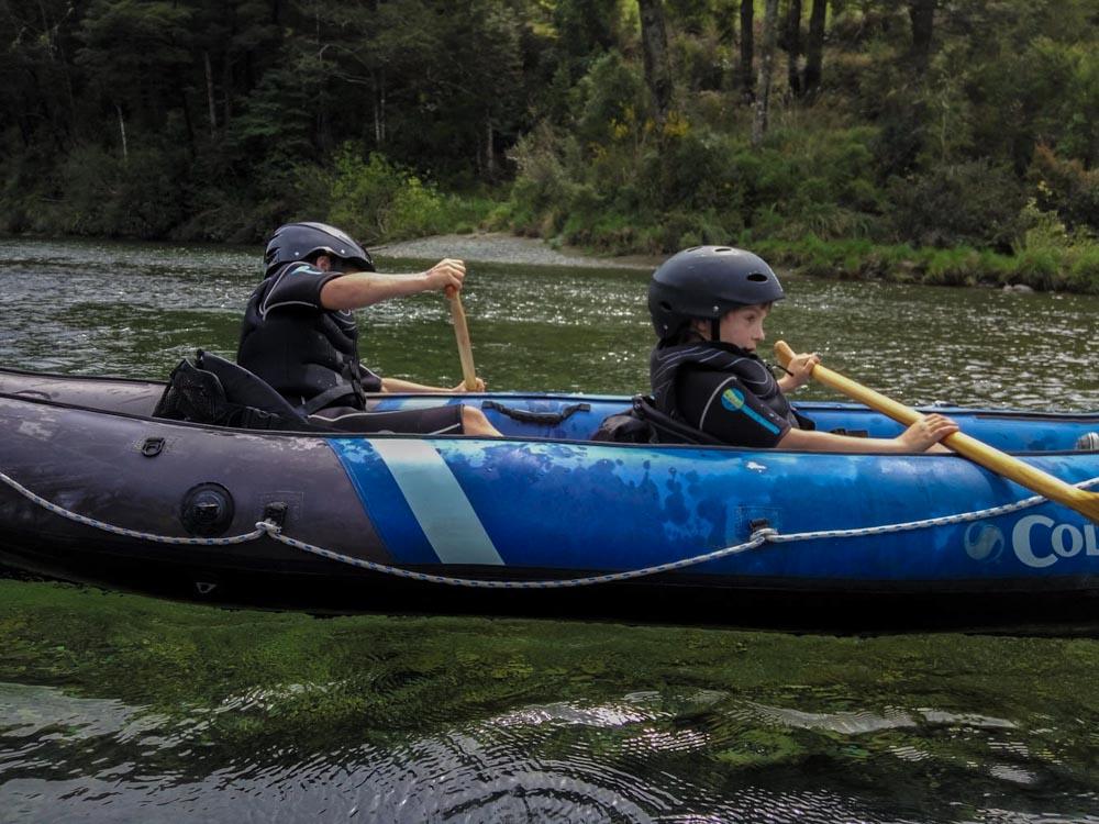 Kayaking Tour for children in New Zealand