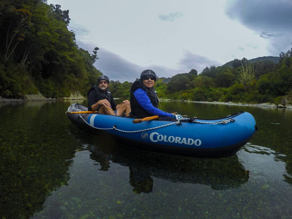 Kayak Tour at the Pelorus River in Havelock