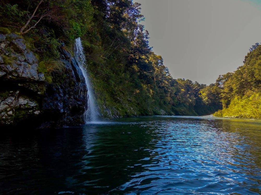 The beautiful Pelorus River in Havelock, New Zealand
