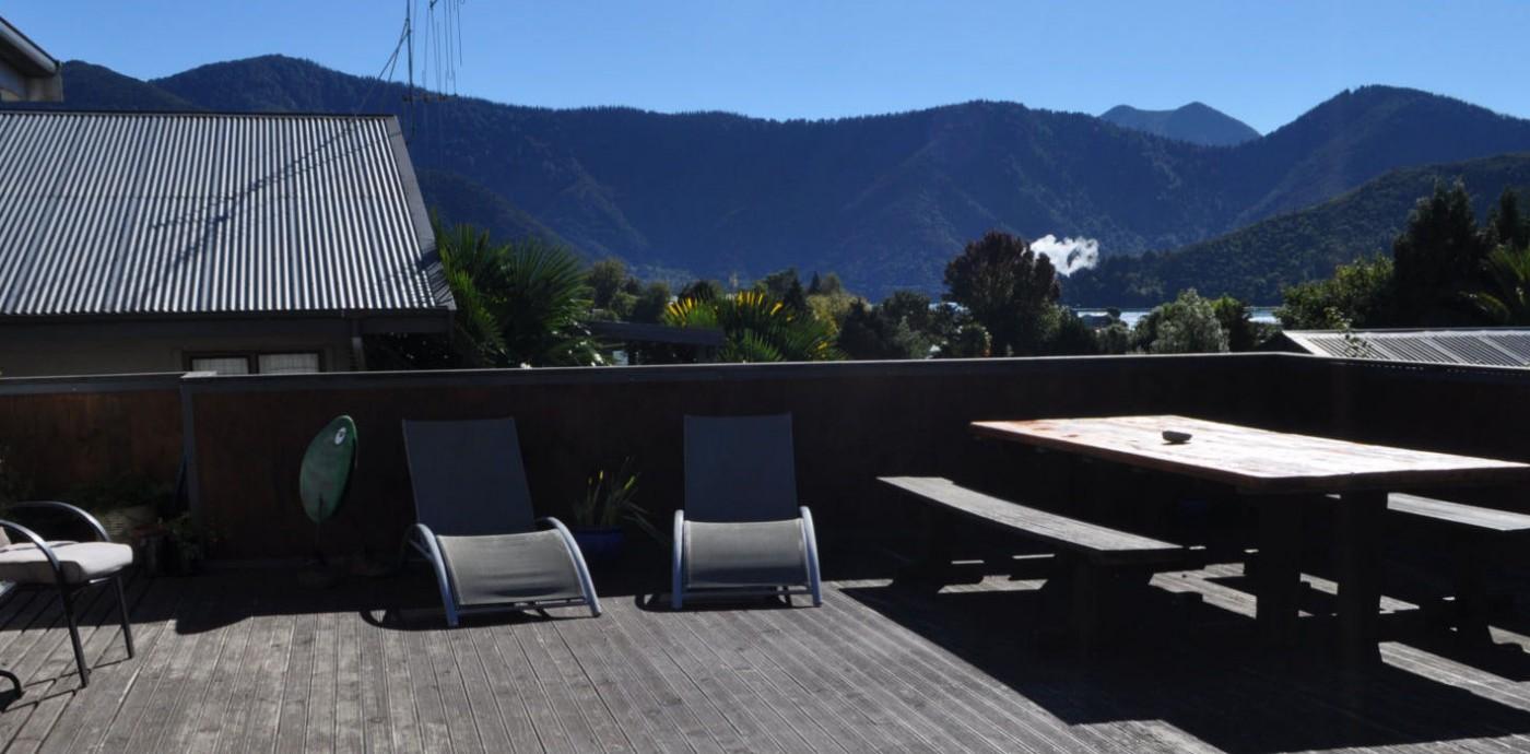 Accomodation in Havelock, Marlborough Sounds